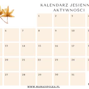 """eBook """"Kalendarz jesiennych aktywności"""""""