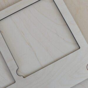 Podkładka do ekspozycji kart trójdzielnych