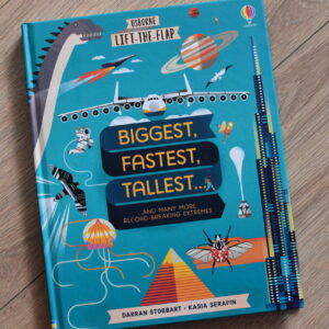 Lift-the-Flap Biggest Fastest Tallest, wyd. Usborne