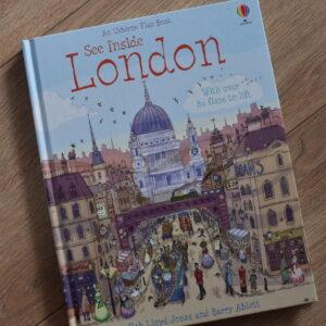 See Inside London, wyd. Usborne