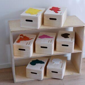 """Zestaw pudełek """"7 Continents"""""""