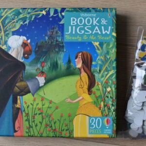 Puzzle Beauty and the Beast, 30 el. + książeczka